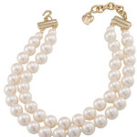 Carolee Two row pearl necklace