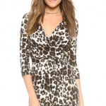 Ferity Leopard Print Dress