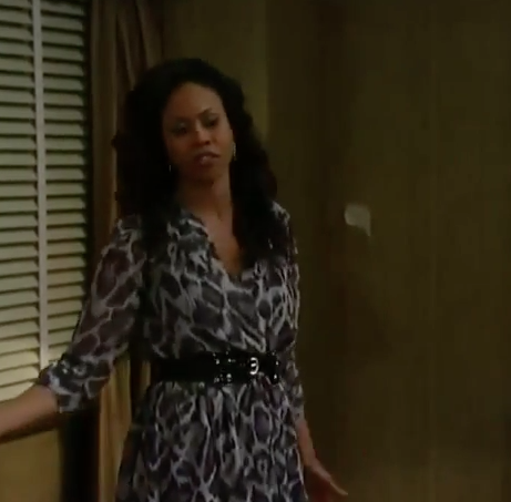 General Hospital Fashion Get Jordan Ashford's leopard-print Dress For Less – Vinessa Antoine's Style 1
