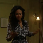 General Hospital Fashion Get Jordan Ashford's leopard-print Dress For Less - Vinessa Antoine's Style 2