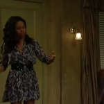 General Hospital Fashion Get Jordan Ashford's leopard-print Dress For Less - Vinessa Antoine's Style 3