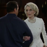 General Hospital Jewlery Get Helena Cassadine's Pearl Choker and Earrings For Less - Constance Tower's Style