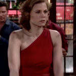 The Young and the Restless Style Get Phyllis Newman's Red One Shoulder Dress For Less - Gina Tognoni's Style 1