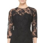 Get Summer Newman's Black Lace Dress For Less – Hunter King's Style Via Neiman Marcus